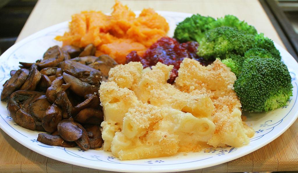 My Thanksgiving dinner plate vegan thanksgiving & What I ate for Thanksgiving Dinner