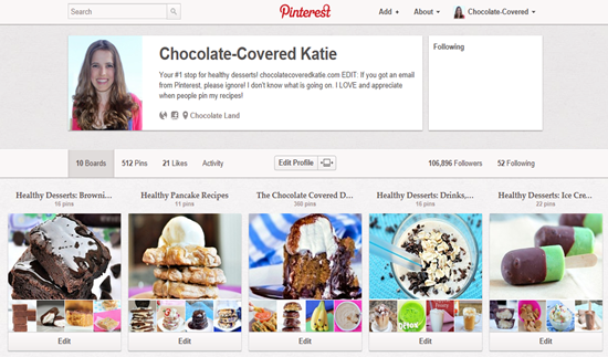 pinterest not working
