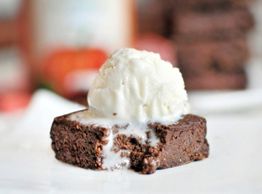 pumpkin-brownie
