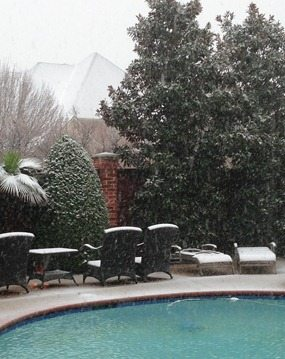 dallas snow