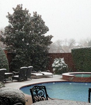 texas snow