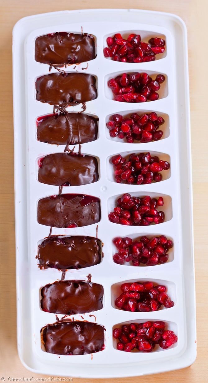 Chocolate Pomegranate Ice Cream Recipe