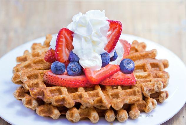 Super Easy Healthy Waffle Recipe