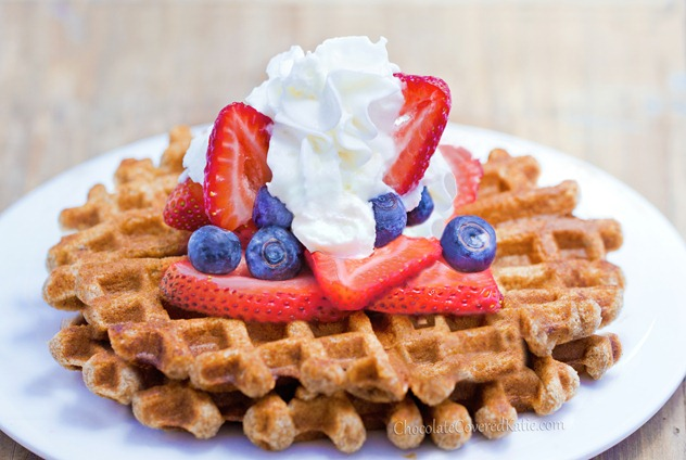 Super Easy Healthy Waffle Recipe