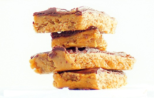 healthy butterfinger bars