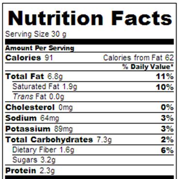 buckeye brownies calories