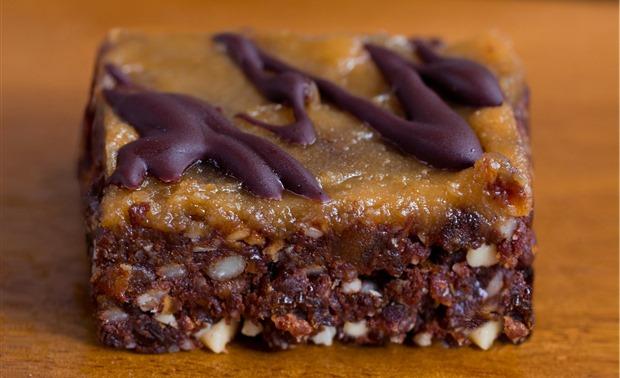 no bake peanut butter brownies
