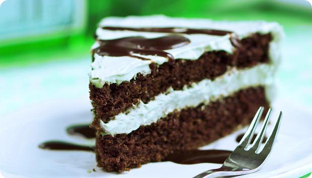 mint layer cake