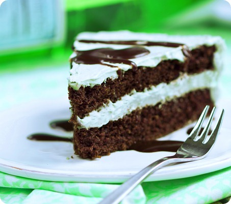 mint layer cake