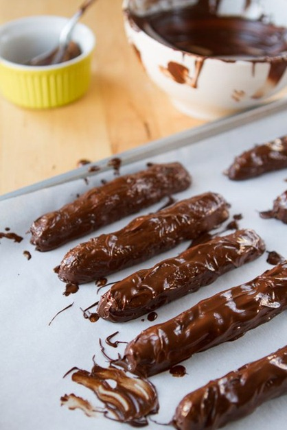 Homemade Copycat Twix Bars!