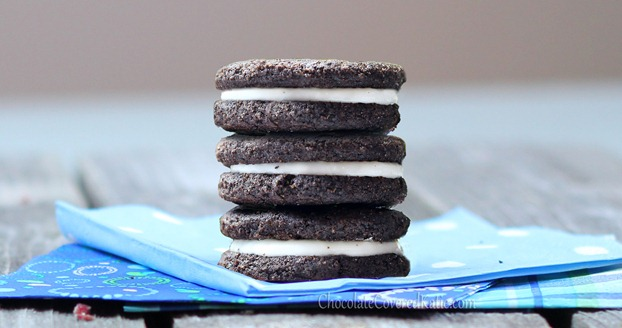 http://chocolatecoveredkatie.com/2012/10/24/healthy-oreos/